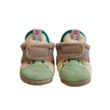 LODGER Slipper Fleece Native Emerald