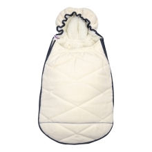 LODGER Mini Bunker Fleece Off-white