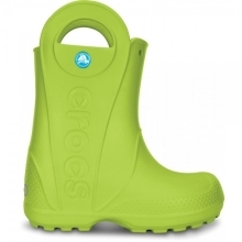 CROCS Handle It Rain Boot Kids Volt Green