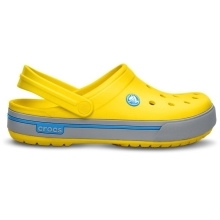 CROCS Crocband II.5 Clog Kids Yellow/Light Grey