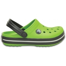 CROCS Crocband Kids Volt Green/Graphite