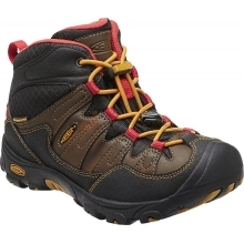 KEEN Pagosa Mid WP JR cascade brown/tawny olive