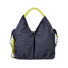 LÄSSIG taška Green Label Neckline Bag Denim Blue