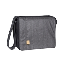 LÄSSIG taška Casual Messenger Bag Twill Black
