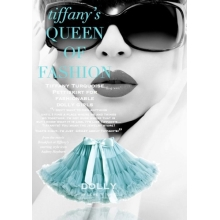 DOLLY sukně Holly Golightly (turquoise)