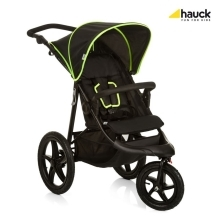 HAUCK Runner Kočárek Black Neon Yellow