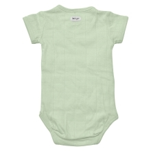 LODGER Romper Fold Over Solid Leaf