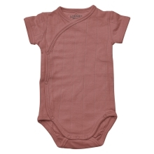 LODGER Romper Solid Short Sleeves Plush
