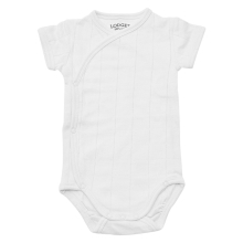 LODGER Romper Fold Over Solid White