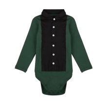 THE TINY UNIVERSE Body Tuxedo Deep Green
