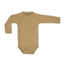 LODGER Romper Solid Long Sleeves Honey