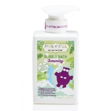 JACK N' JILL Natural Bathtime Pěna do koupele Serenity
