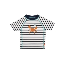 LÄSSIG Short Sleeve Rashguard Boys Sailor Navy