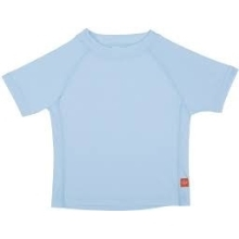 LÄSSIG Short Sleeve Rashguard Boys Light Blue