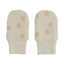 LODGER Mittens Print Rib Birch