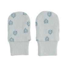 LODGER Mittens Print Rib Ice Flow