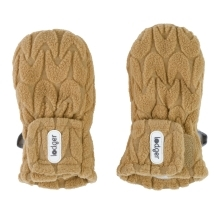 LODGER Mittens Empire Fleece Dark Honey