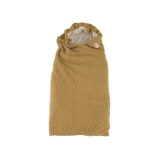 LODGER Wrapper Fleece Empire Dark Honey
