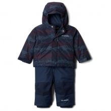 COLUMBIA Buga Set Coll Navy Dotscape Print