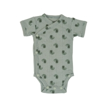 LODGER Romper SS Flame Tribe Silt Green