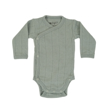 LODGER Romper LS Tribe Silt Green