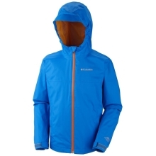 COLUMBIA Splash Maker II Rain Jacket Hyper Blue