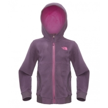 THE NORTH FACE Girls Super Glacier Full Zip Fleece Grand Purple