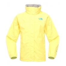 THE NORTH FACE Girls Resolve Jacket Voltage Yellow