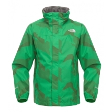 THE NORTH FACE Boys Printed Resolve Jacket Arden Green