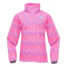 THE NORTH FACE Girls Dottie Resolve Jacket Linaria Pink Print