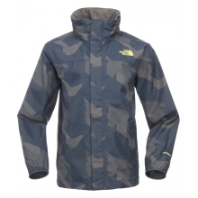 THE NORTH FACE Boys Printed Resolve Jacket Cosmic Blue