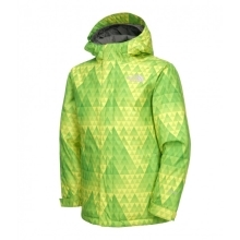 THE NORTH FACE Boys Insulated Open Gate Jacket Green Multiprint