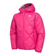 THE NORTH FACE Girls Reversible Moondoggy Jacket Passion Pink