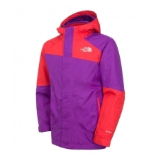 THE NORTH FACE Girls Ski Storm Triclimate Jacket Pixie Purple