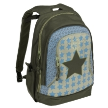 LÄSSIG Starlight Olive Mini Backpack Big