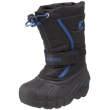 SOREL Flurry TP Black,Bright Blue vel.11