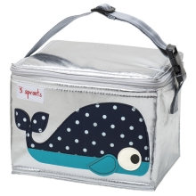 3 SPROUTS Lunch Bag Svačinový box Velryba