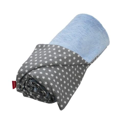 AESTHETIC Deka mikroplyš 100x140 cm modrá
