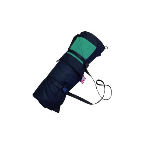 AESTHETIC Pikniková deka černá-zelená lesní 140x200 cm