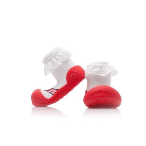 ATTIPAS Ballet red vel. M