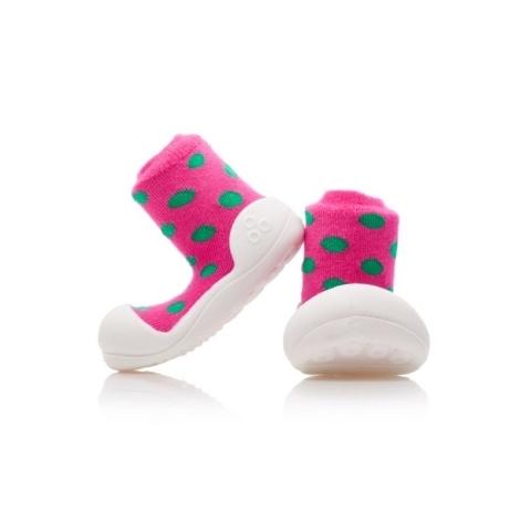 ATTIPAS Polka Dot pink