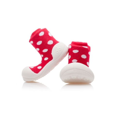 ATTIPAS Polka Dot red velikost XL