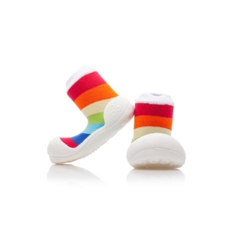 ATTIPAS Rainbow white velikost L