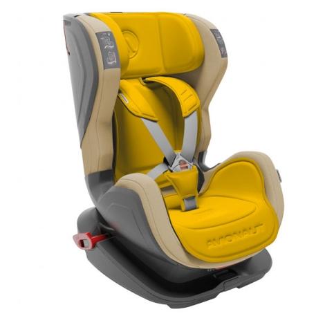 AVIONAUT Autosedačka Glider Fit (9 - 25) béžová/žlutá