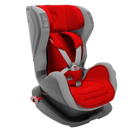 AVIONAUT Autosedačka Glider Isofix Fit (9 - 18) šedá/červená