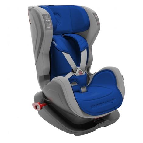 AVIONAUT Autosedačka Glider Isofix Fit (9 - 18) šedá/modrá
