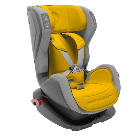 AVIONAUT Autosedačka Glider Isofix Fit (9 - 18) šedá/žlutá