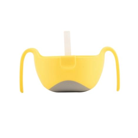 B.BOX Miska s brčkem XL žlutá