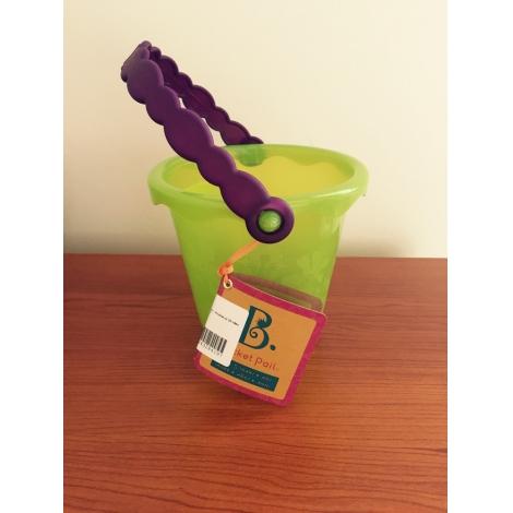B.TOYS Barevný kyblík s držadlem zelený