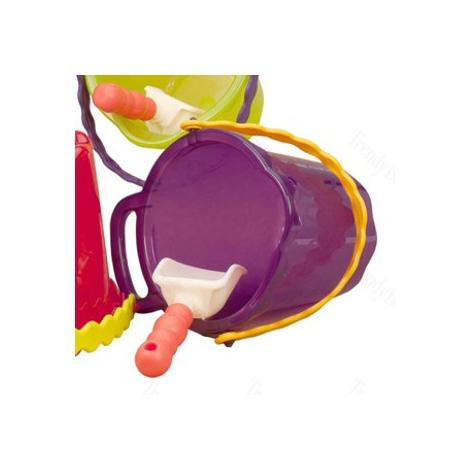 B.TOYS Kyblík s lopatkou střední fialová